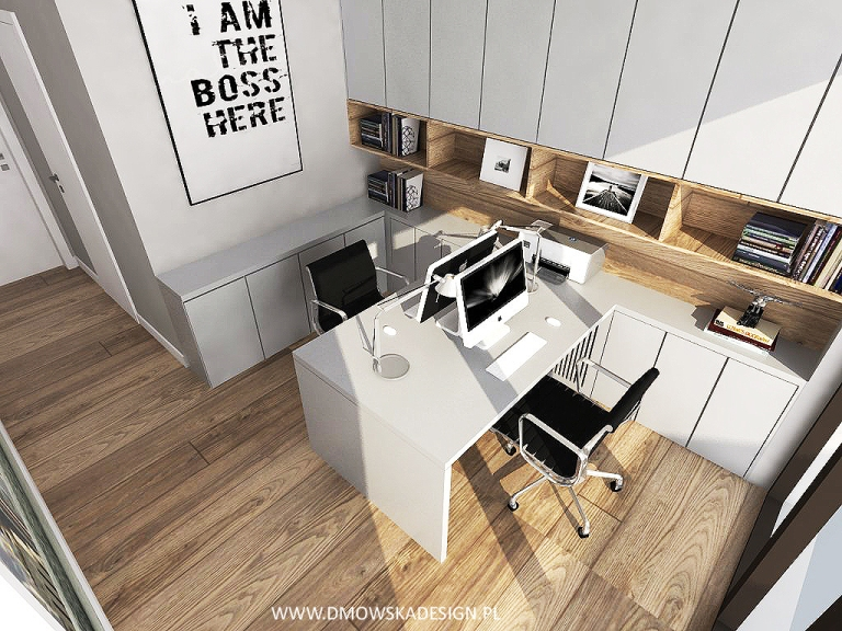 home office / gabinet Patrycja Dmowska/ Dmowska Design